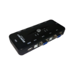 Miscellaneous 4 Port USB/VGA KVM Switch including cables