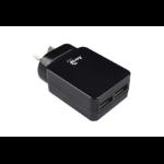 AEROCOOL Premium Smart 5V 2.4A Dual USB Charger - Black
