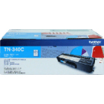 Brother TN-340C toner cartridge Original Cyan 1 pc(s)