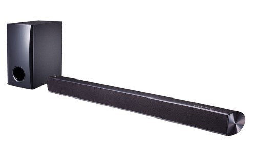 LG SH2 Wired & Wireless 2.1channels 100W Black soundbar speaker