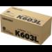 Samsung Cartucho de tóner negro de alto rendimiento CLT-K603L