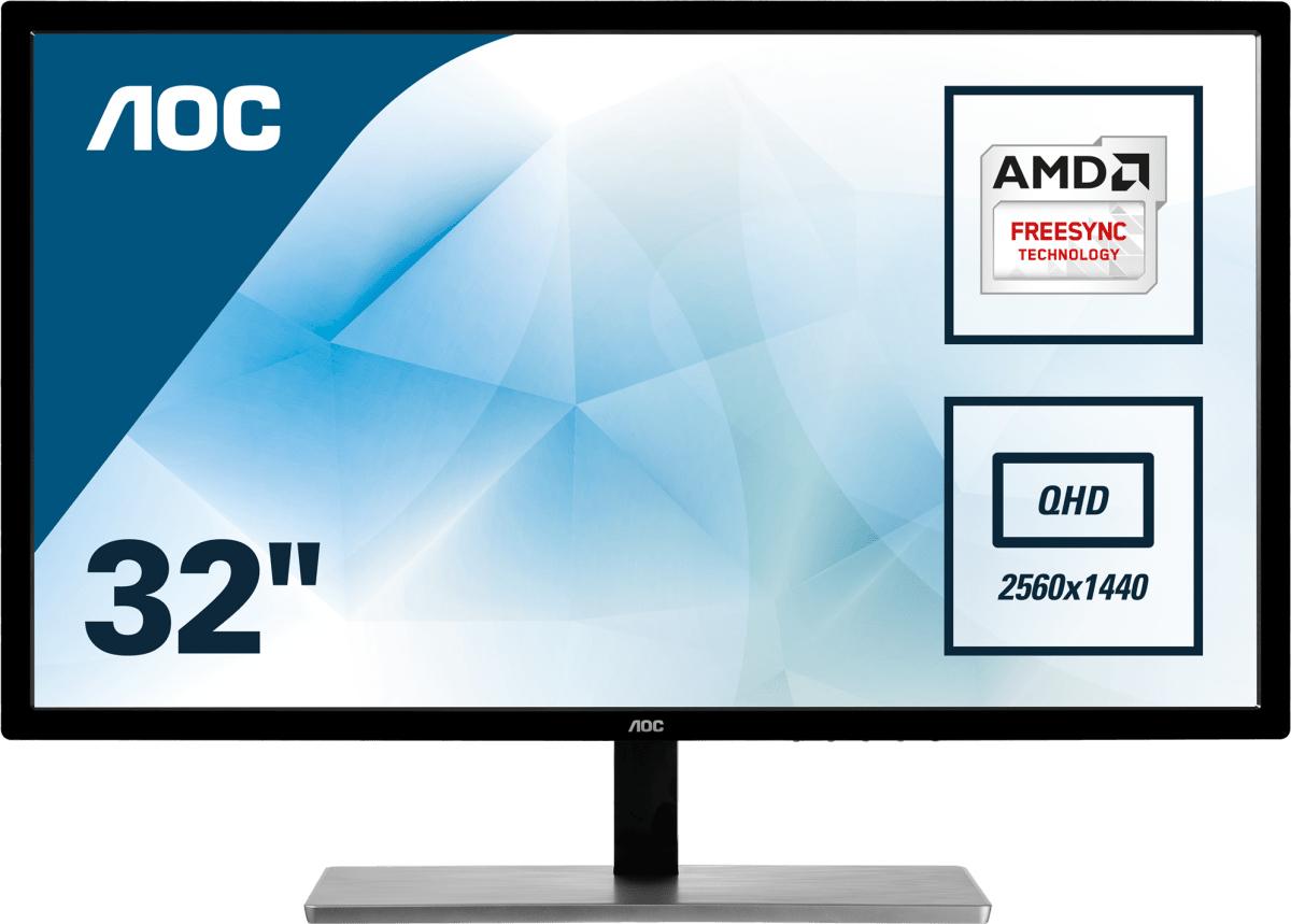 Desktop Monitor - Q3279VWFD8 - 31.5in - 2560x1440 (WQHD) - IPS 5ms