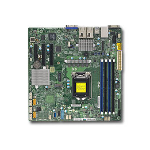 Supermicro X11SSH-TF server/workstation motherboard LGA 1151 (Socket H4) Micro ATX Intel® C236 MBD-X11SSH-TF-O