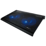 "Trust 20104 notebook cooling pad 43.9 cm (17.3"") Black"