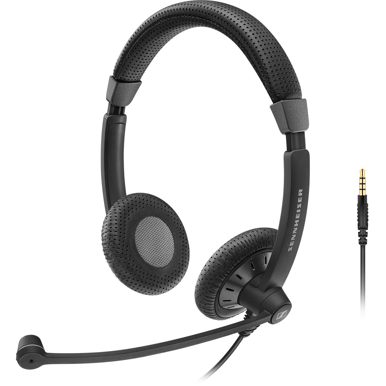 Sennheiser SC 75 Binaural Head-band Black headset
