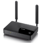 ZyXEL LTE3301-Q222-EU01V3F Single-band (2.4 GHz) Fast Ethernet 3G 4G Black wireless router