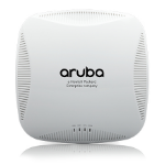 Aruba, a Hewlett Packard Enterprise company Instant IAP-215 1300Mbit/s Power over Ethernet (PoE) Grey