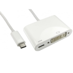 Cables Direct USB3C-DVICAB-WPD USB graphics adapter White