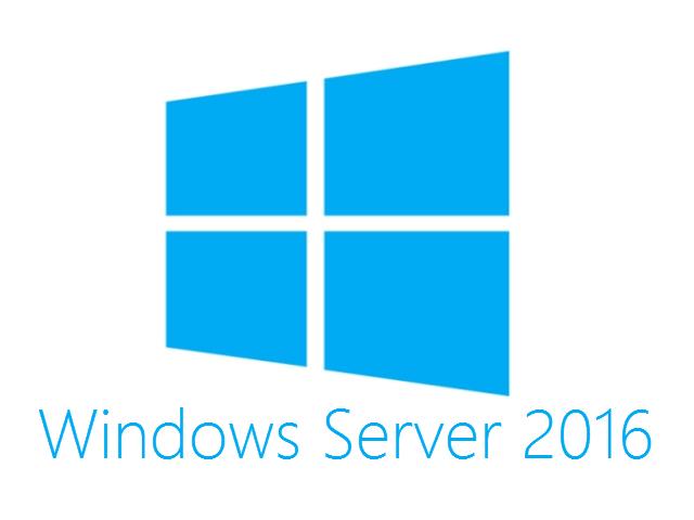 Hewlett Packard Enterprise Microsoft Windows Server 2016 Datacenter Edition ROK 16 Core - Spanisch