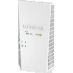 Netgear EX6400 1900Mbit/s Ethernet LAN Wi-Fi White 1pc(s) PowerLine network adapter