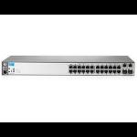 Hewlett Packard Enterprise ProCurve 2620-24-PoE+ Managed L3 Fast Ethernet (10/100) Silver 1U Power over Ethernet (PoE)