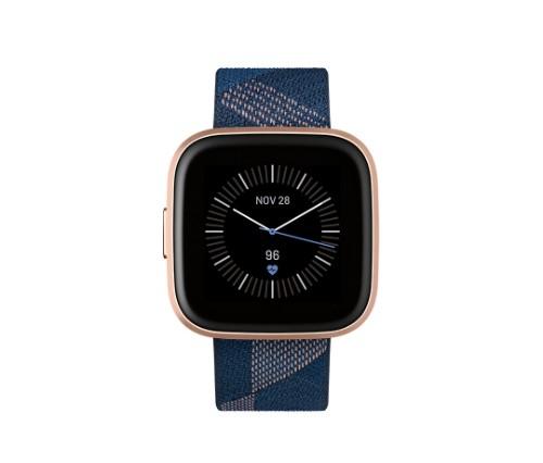 "Fitbit Versa 2 smartwatch AMOLED 3.55 cm (1.4"") Black,Gold"