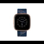 "Fitbit Versa 2 reloj inteligente AMOLED 3,55 cm (1.4"") Negro, Oro"