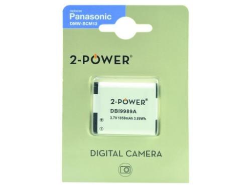 2-Power Digital Camera Battery 3.7v 1050mAh