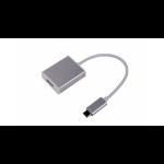 LMP USB-C to HDMI 2.0 USB-C 3.1 Silber