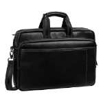 Rivacase 8940 Faux Leather Bag for 15.6 Inch Laptops, Black (6901201089402)