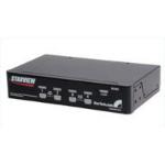StarTech.com 4 Port Star View KVM Switch 1U Black KVM switch