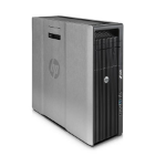 HP Z620 2.1GHz E5-2620V2 Mini Tower Black Workstation