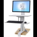 Ergotron WorkFit-S Multimedia stand White PC
