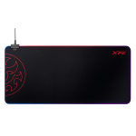 XPG BATTLEGROUNDXLPRIME-BKCWW mouse pad Black Gaming mouse pad