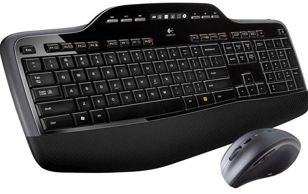 Logitech MK710 RF Wireless Black keyboard
