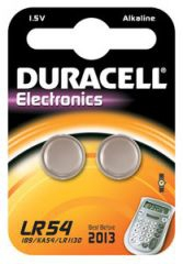 Duracell LR54 household battery Single-use battery Alkaline