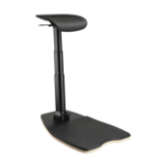 V7 ECHAIR Ergonomic Leaning Chair - Black
