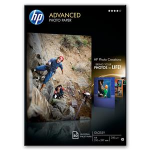 HP Advanced Glossy Photo Paper-50 sht/A4/210 x 297 mm