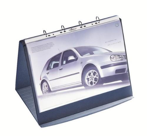 Durable 856939 flip chart Freestanding 360 x 450 mm Grey