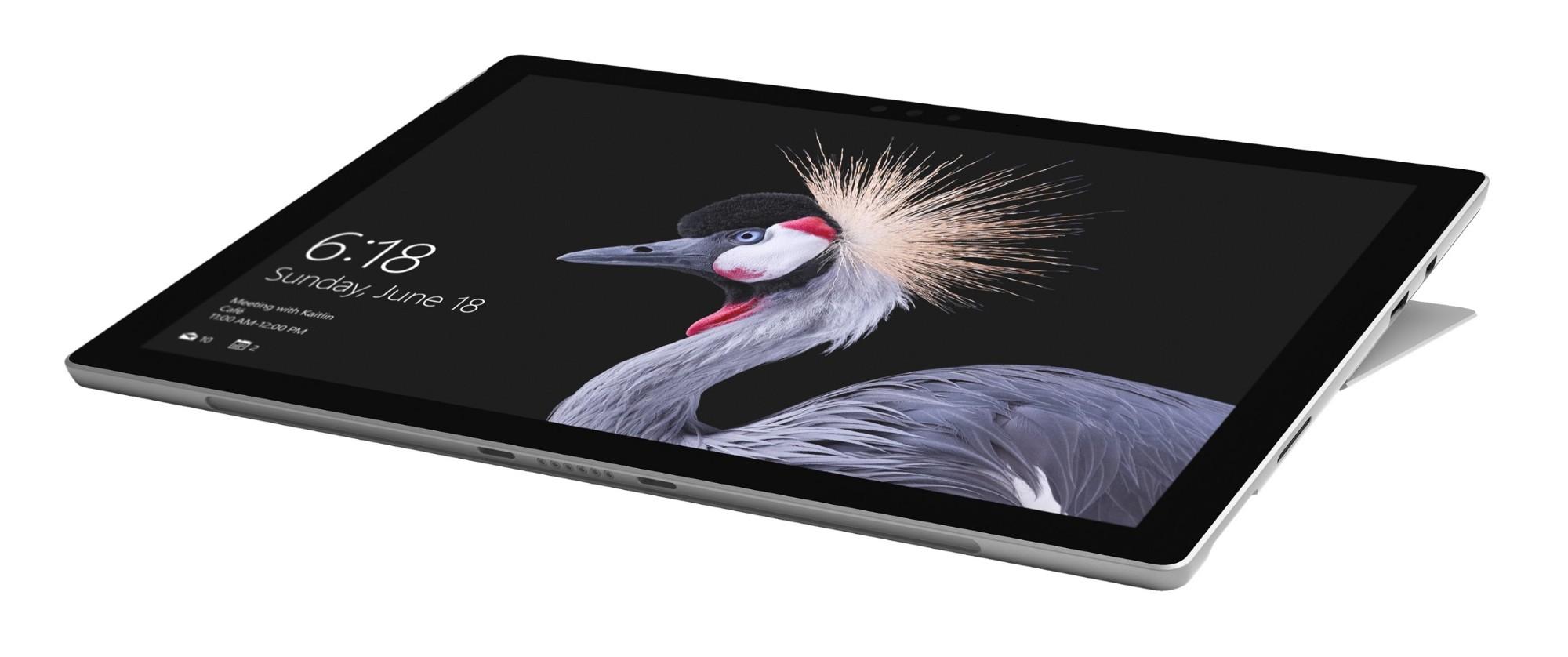 Microsoft Surface Pro tablet Intel® Core™ M m3-7Y30 128 GB Black,Silver