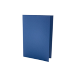 Exacompta Value Square Cut Folder LightWeight Foolscap Blue PK100