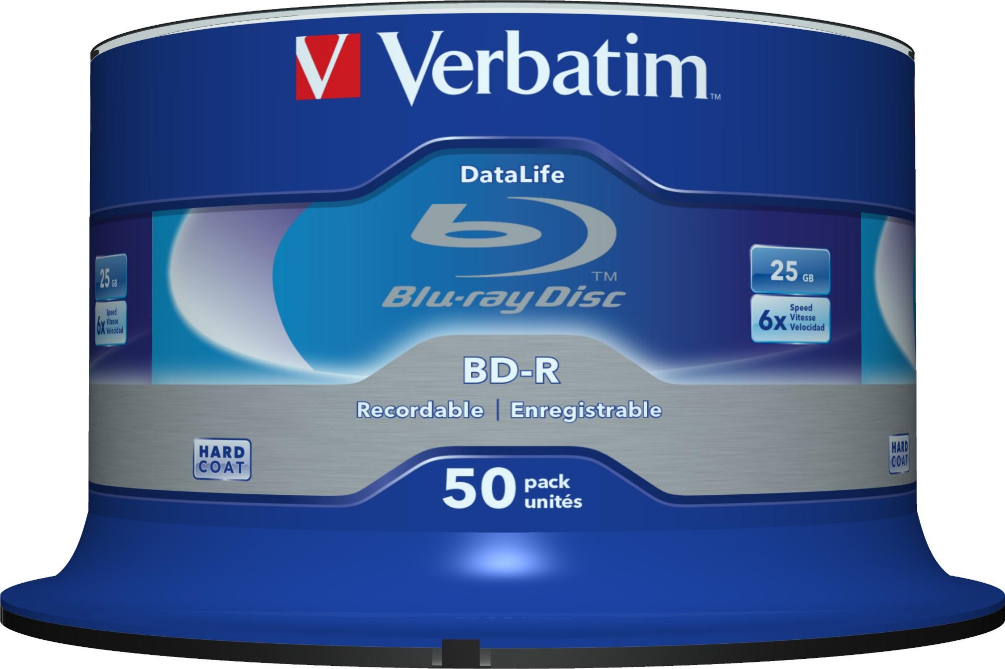 Verbatim Datalife 6x BD-R 25GB 50pc(s)