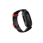 Fitbit Ace 3 PMOLED Wristband activity tracker Black, Red