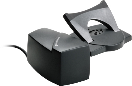 Plantronics HL10 telephone rest Black