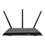 Netgear R7000P wireless router Dual-band (2.4 GHz / 5 GHz) Gigabit Ethernet Black