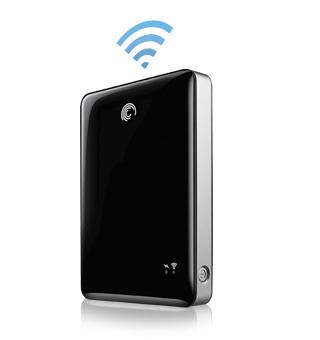 Seagate GoFlex Satellite Mobile Wireless Storage, 500GB