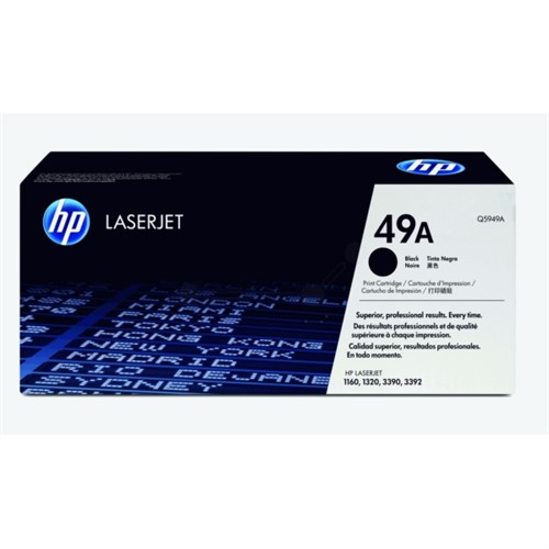 HP Q5949A (49A) Toner black, 2.5K pages