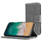 "TheSnugg B074TGS4WR 5.8"" Folio Grey mobile phone case"
