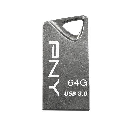 PNY T3 Attaché 64GB 64GB USB 3.0 Grey USB flash drive