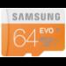 Samsung EVO 64GB MicroSDXC Class 10