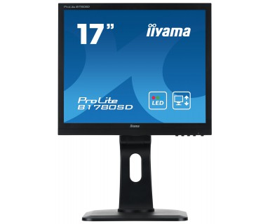 "iiyama ProLite B1780SD-B1 computer monitor 43.2 cm (17"") LED Flat Matt Black"
