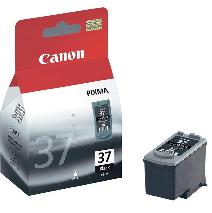Canon PG-37 Original Negro 1 pieza(s)