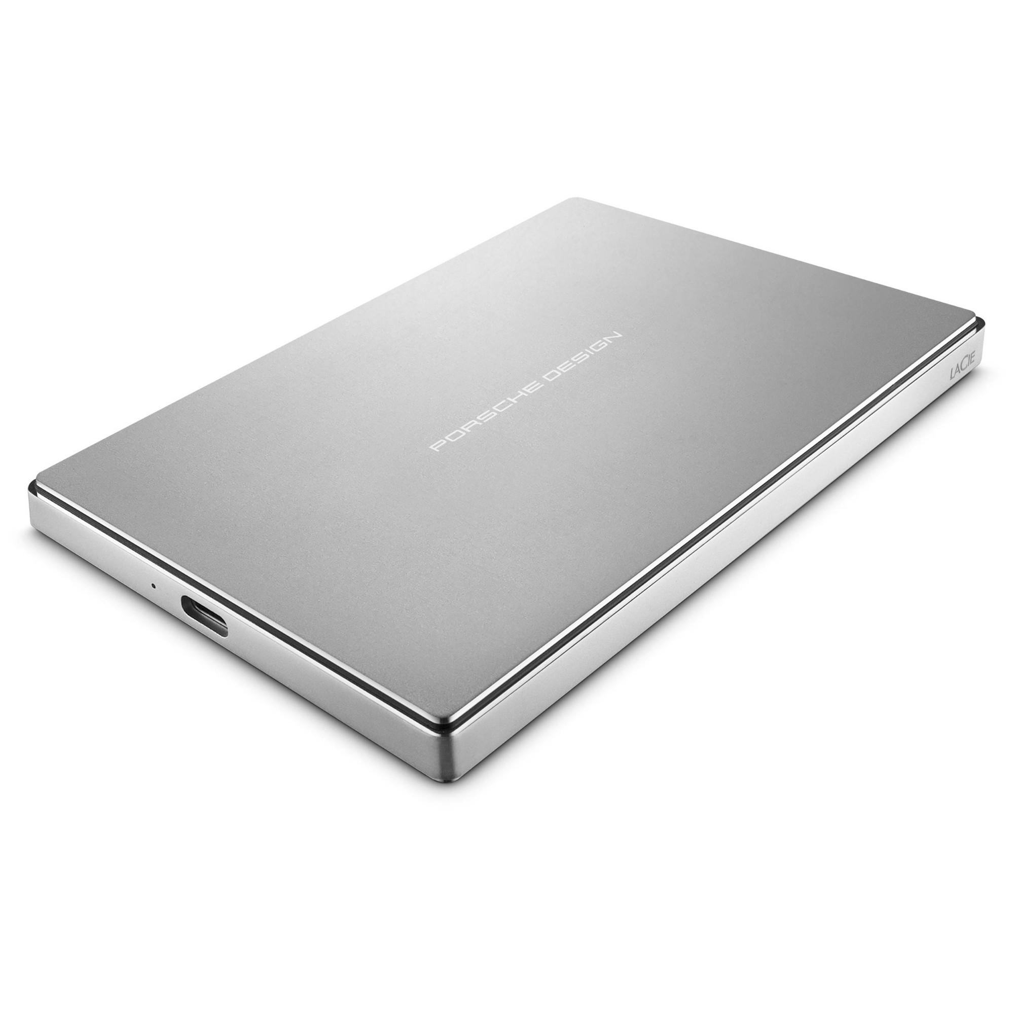 LaCie Porsche Design Mobile external hard drive 1000 GB Silver