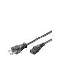 Microconnect PE160418 power cable Black 1.8 m Power plug type J C13 coupler