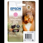 Epson Squirrel Singlepack Light Magenta 378 Claria Photo HD Ink