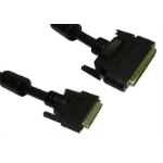 Cables Direct 1m, HPDB68 M/U2CN68 M SCSI cable Black External DB68/HP 68-p