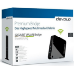 Devolo GIGABIT WLAN Bridge Network bridge 1733Mbit/s Black,Grey