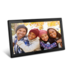 "Aluratek AWS17F digital photo frame 17.3"" Touchscreen Wi-Fi Black"