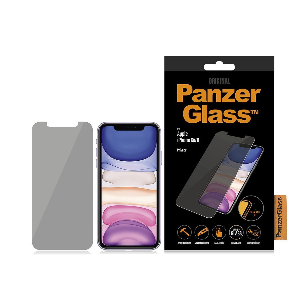 PanzerGlass P2662 protector de pantalla Protector de pantalla anti-reflejante Teléfono móvil/smartphone Apple 1 pieza(s)