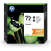 HP 72 Original Negro mate Multipack